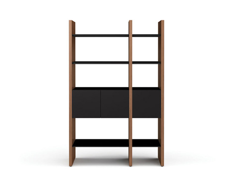 BDI - Two Section Bookcase - 5402-CB