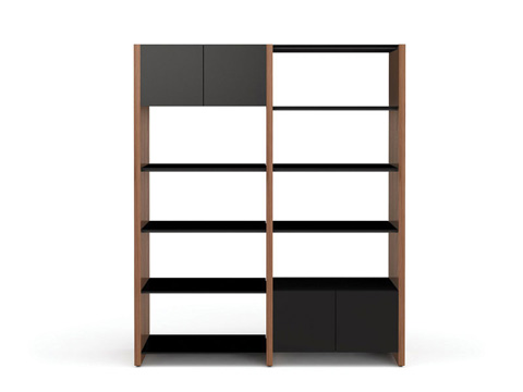 Image of Two Section Bookcase