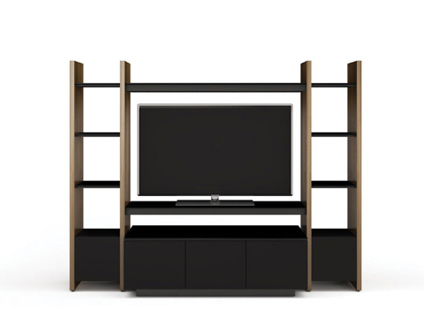 BDI - Three Section Entertainment Center - 5423-TH