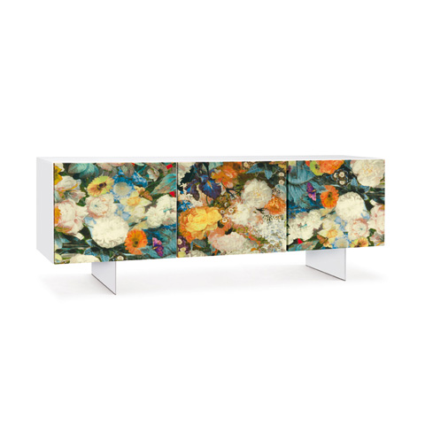 Bellini Imports - Floral Console - FLORA-1000