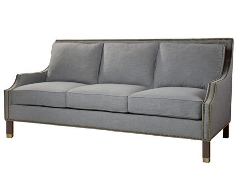 Belle Meade Signature - Sinclair Transtional Nail Arm Sofa - 8032