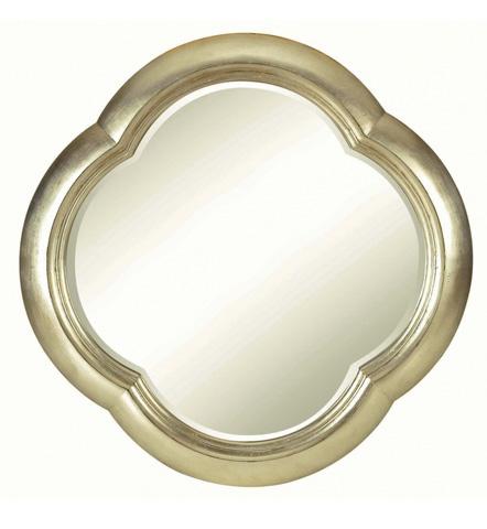 Belle Meade Signature - Mandalay Quartrefoil Gold Leaf Mirror - 269