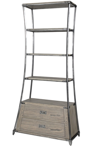 Belle Meade Signature - Wynn Industrial Chic Etagere - 5012