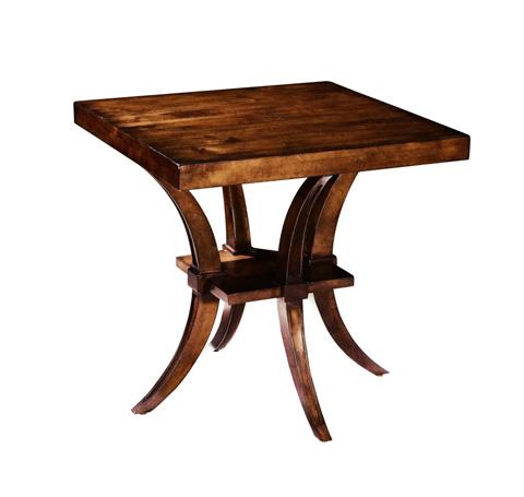 Belle Meade Signature - Harding Greek Revival Saber Leg Lamp Table - 536