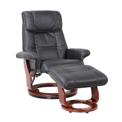 Benchmaster Furniture, Llc - Ventura Black Swivel Glider - 7036-001-29