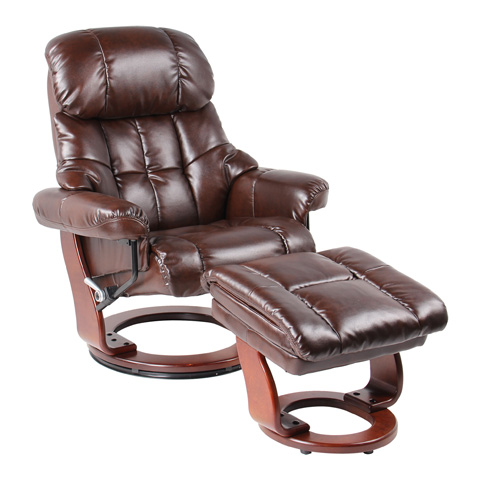 Benchmaster Furniture - Sorrento Jave Recliner - 7438WH-002RF-29