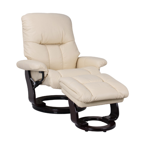 Image of Sienna Light Cream Swivel Glider