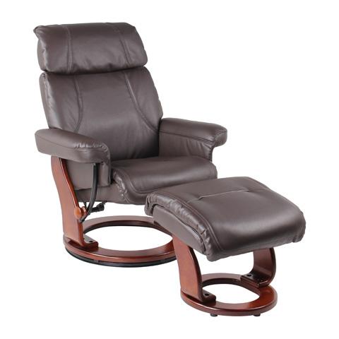 Benchmaster Furniture - Bella Chocolate Recliner - 7511F-004AF-29