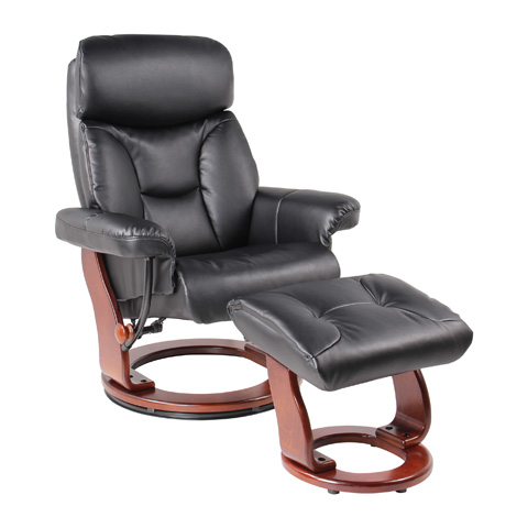 Benchmaster Furniture - Emmie Black Recliner - 7581F-001AF-29