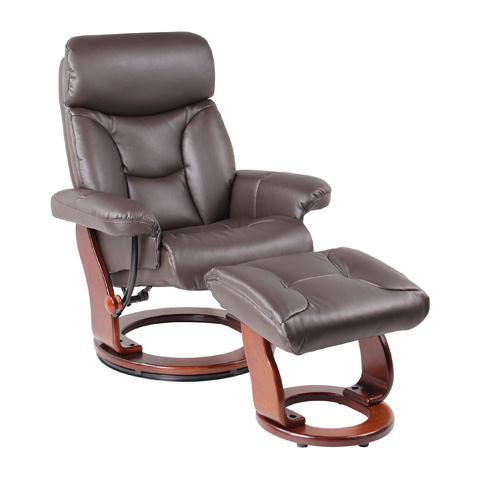 Benchmaster Furniture - Emmie Chocolate Recliner - 7581F-004AF-29