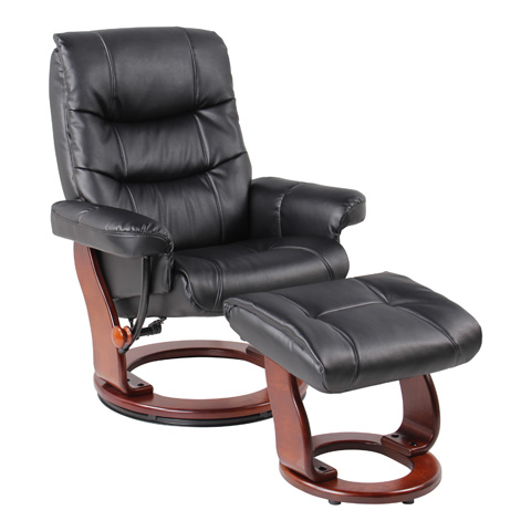 Image of Rosa Black Recliner