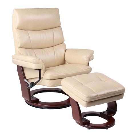 Benchmaster Furniture - Bravo Chamois Recliner - 7584WB-008RF-29