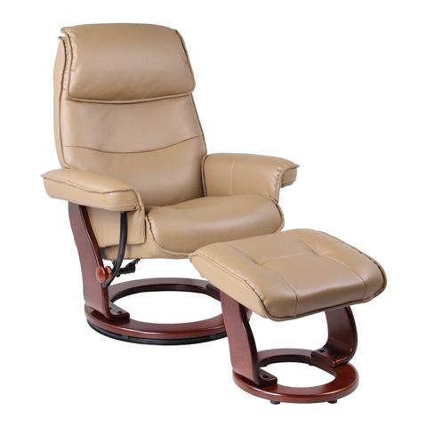 Benchmaster Furniture - Katy Brown Sugar Recliner - 7651A-002AF-29
