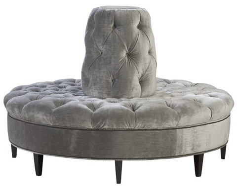 Emerson Bentley - Tufted Posh Lobby Settee - 1310-02
