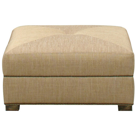 Emerson Bentley - Pristina Square Ottoman - 282-00
