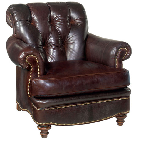 Emerson Bentley - Exeter Leather Club Chair - 710-01