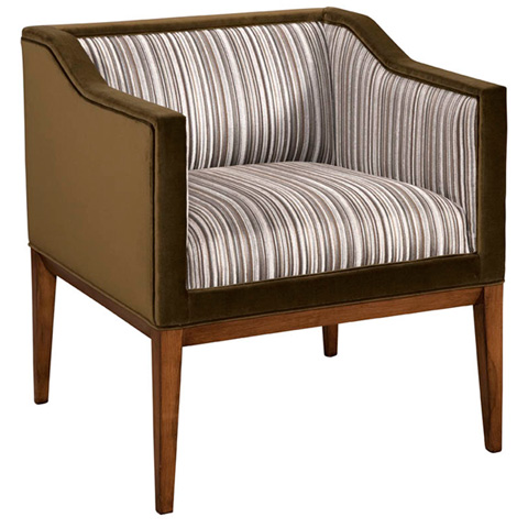 Emerson Bentley - Arturo Club Chair - 714-01