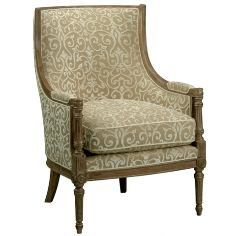 Emerson Bentley - Tinsley Carved Chair - 745-01