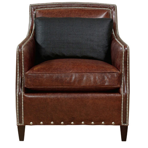 Emerson Bentley - Tacoma Leather Chair - 784-01
