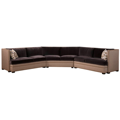 Emerson Bentley - Brisbane Three Piece Sectional - 12 SECT