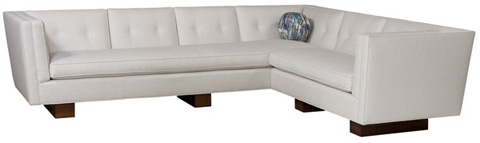 Emerson Bentley - Thompson Two Piece Sectional - 47 SECT