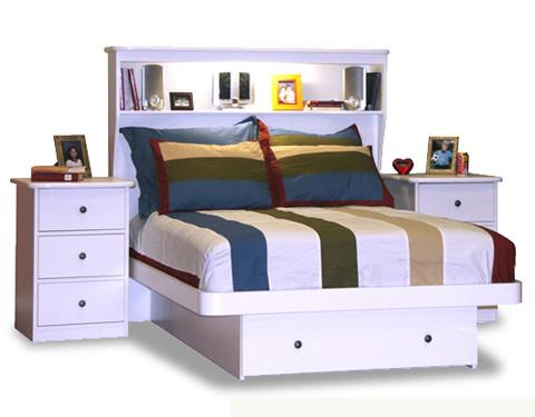 Berg Furniture - Full Platform Bed - 22-87-94