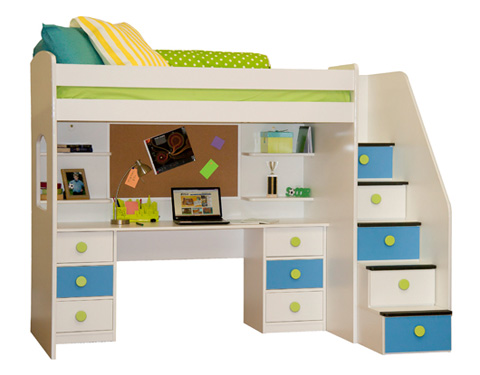 Image of Twin Dorm Loft Bed
