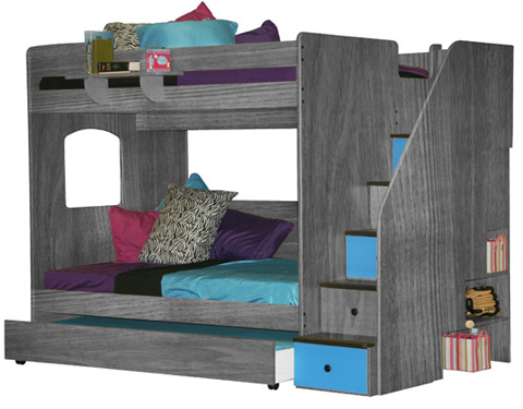 Image of Full over Full Loft Bed