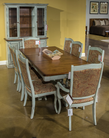 Image of Eleven Piece Dining Room Set