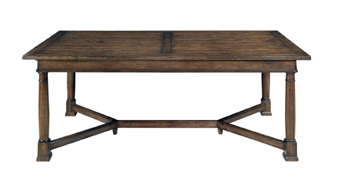 Image of Trestle Dining Table