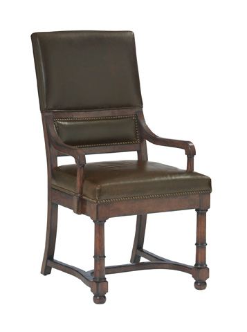 Image of Upholstered Dining Arm Chair