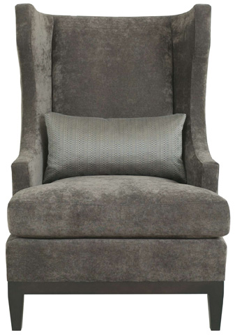 Bernhardt - Modern Wingback Chair - N2062