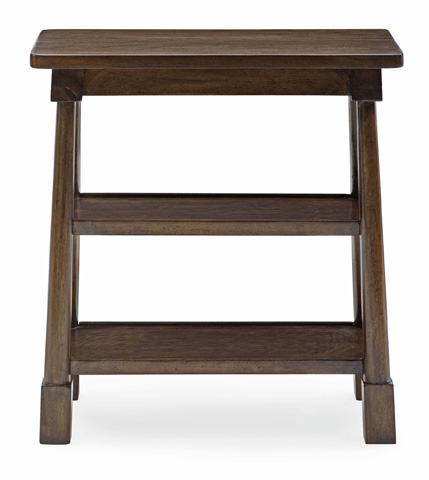 Image of Saddle End Table