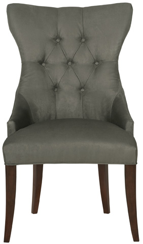 Image of Deco Tufted Back Arm Chair