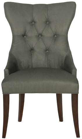 Bernhardt - Deco Tufted Back Arm Chair - 319-542
