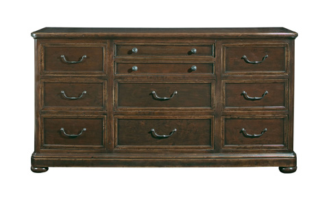 Image of Vintage Patina Ten Drawer Dresser