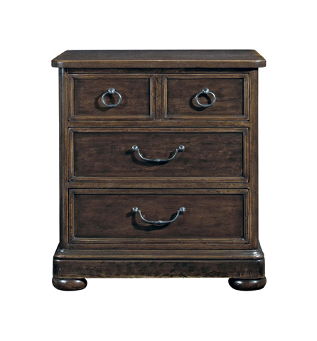Image of Vintage Patina Three Drawer Nightstand