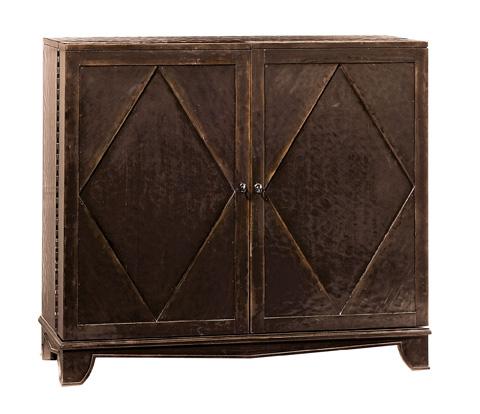 Image of Vintage Patina Bar Cabinet