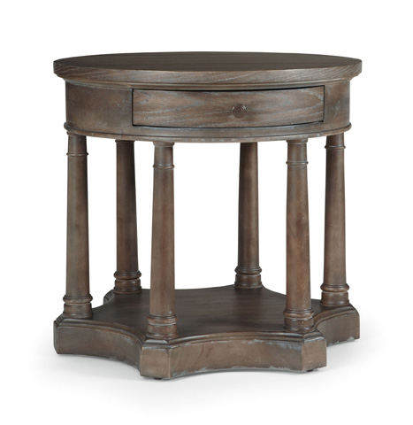 Image of Belgian Oak Chairside Table