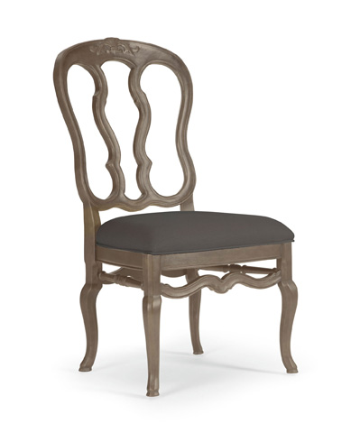 Image of Belgian Oak Dining Side Chair