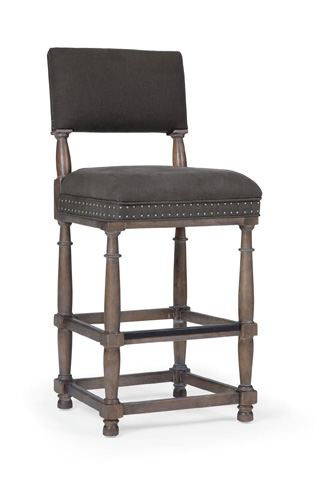 Bernhardt - Belgian Oak Bar Stool - 337-588