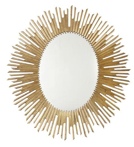 Bernhardt - Salon Sunburst Oval Mirror - 341-333