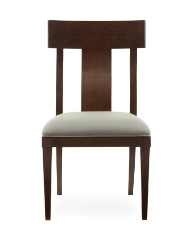 Image of Haven Side Chair with Upholstered Seat