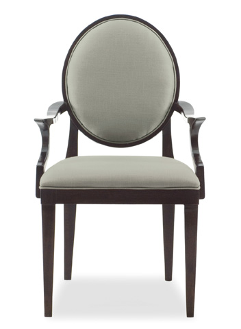 Bernhardt - Haven Upholstered Dining Arm Chair - 346-562R
