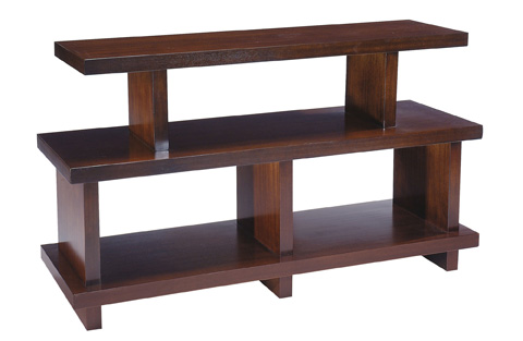Bernhardt - Park West Open Shelf Console Table - 376-912