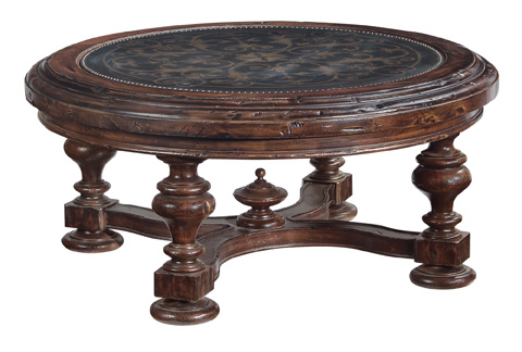 Image of Marquis Round Cocktail Table