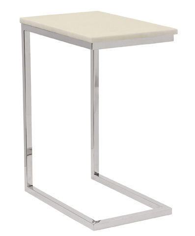 Bernhardt - Marston Ivory Marble Pull-Up Table - 519-126