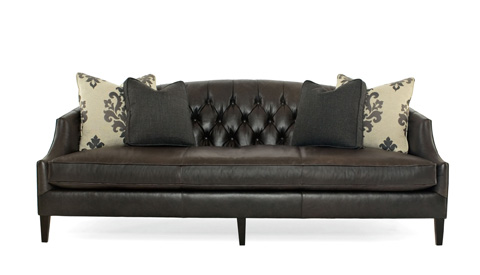 Bernhardt - Diane Leather Sofa - N9087L