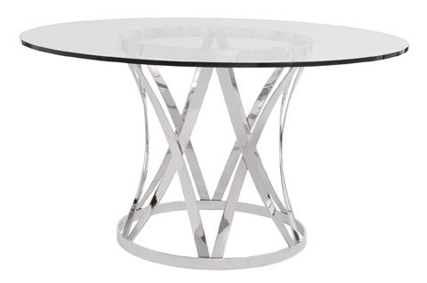 Bernhardt - Gustav Metal Dining Table - 330-774/998-054P
