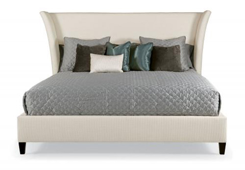 Image of Sienna Flare Upholstered Bed
